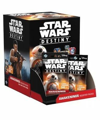 Star Wars Destiny Awakenings Factory Sealed Booster Box In Hand