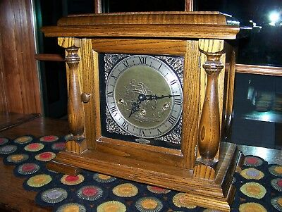 Rare Vintage Wuersch Triple Chime Mantle Clock; Pristine Condition; One Owner
