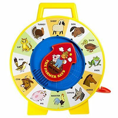 Fisher Price Classic Farmer See N and Say Preschool Toddler Animal Learning Toy