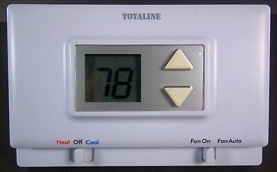 Thermostat Totaline P474-0130 Heating and  Cooling Non-Programmable.