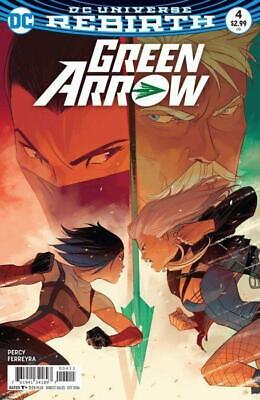 Green Arrow #4 (Vol 5) DC Rebirth