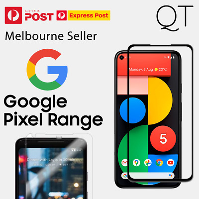 Genuine Tempered Glass/Film Screen Protector for Google Pixel 2 XL & Pixel/XL