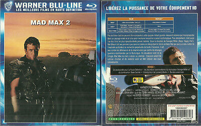 RARE / BLU RAY - MAD MAX 2 avec MEL GIBSON / NEUF EMBALLE - NEW & SEALED