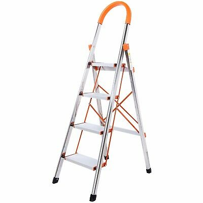Lifewit Portable Floding 4-Step Stool Ladder Anti-Slip with Rubber Hand Grip