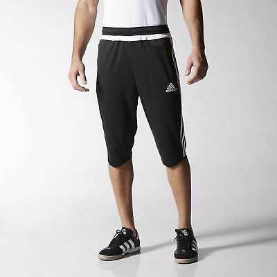 adidas Tiro 15 Three-Quarter Pants Men's Black