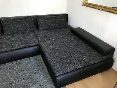 sofa mit schlaffunktion gebraucht eur 110 00 picclick de. Black Bedroom Furniture Sets. Home Design Ideas