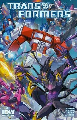 Transformers #36 1:10 Variant Cover by Alex Milne