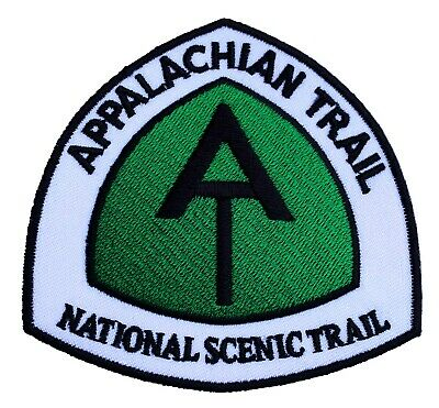 Appalachian Trail Patch Embroidered Iron/Sew on Badge National Scenic Trail USA