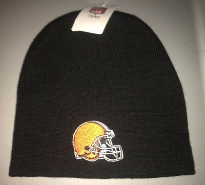 594a29a9 NEW NFL CLEVELAND Browns Beanie Knit Winter Hat Cap - 47 Brand NEW ...