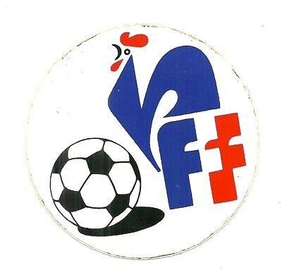 Autocollant - Foot Fff : Federation Francaise De Football France / Stickers