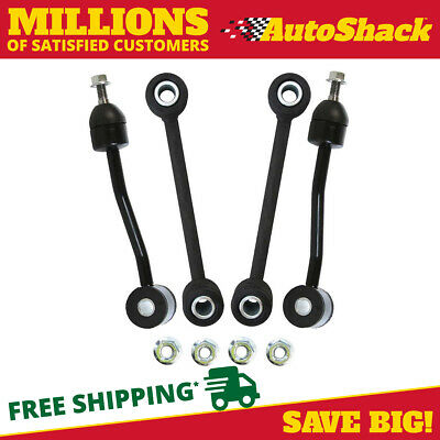 New Package of Two Front and Two Rear Sway Bars fits Jeep
