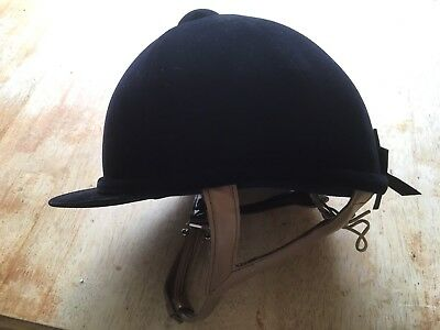 Just Toggs Riding Hat Hunting Hat Velvet