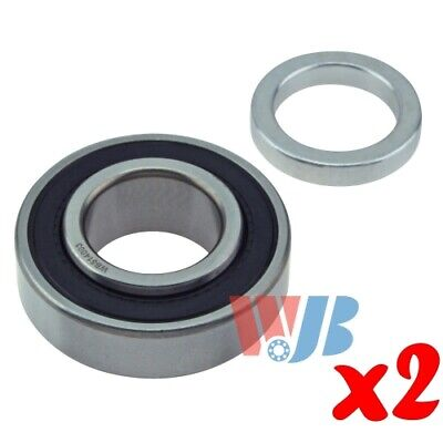 Pair of 2 New Rear Wheel Bearing WJB WB514003 Cross 514003 88128RB