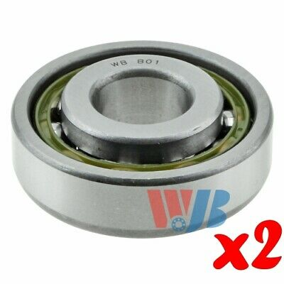 Pair of 2 New Front Outer Wheel Bearing WJB WBB01 Cross B-01