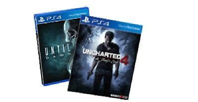 2 PS4 Games- Until Dawn & Uncharted 4: A Thief's End