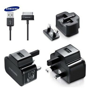 Genuine Samsung Galaxy Tab 2 / 10.1 / 7.0 / Note 10.1 /Mains Wall Charger + Cabl