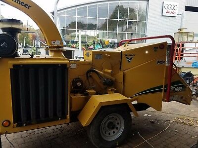 Wood chipper Vermeer BC 1000XL, only 600 hours Bush bandit, Rayco, Morbark