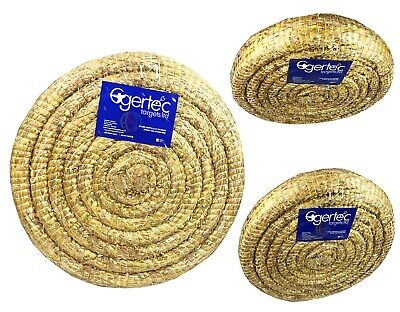 65cm Egertec Round Coiled Archery Straw Target Boss Club Grade & Long Lasting