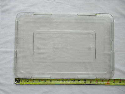 Clear Acrylic Heavy Duty Snap-on Cover to fit Lewis Bins 2000 Series Divider Box