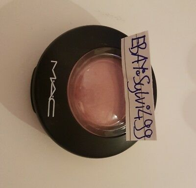 Original Mac Mineralize Blush Rouge Gentle Shimmer Must Have Blogger Glow Shimer