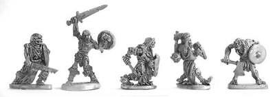 Mirliton SG Grenadier 25mm Zombies w/Hand Weapons & Shields #2 Pack MINT