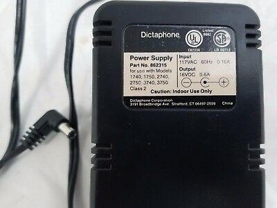 Dictaphone power supply 862315 for 1740