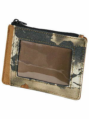 Legendary Whitetails High Impulse Canvas Front Pocket Wallet Big Game Field Camo