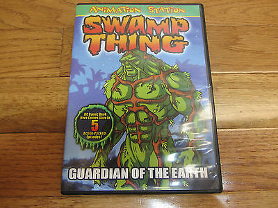 USED Swamp Thing: Guardian of the Earth Complete 1990 Animated Series DVD