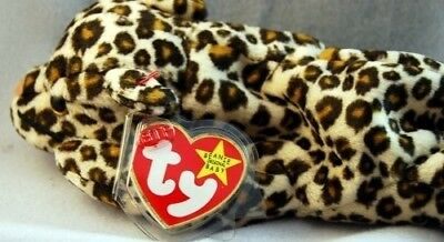 Ty Beanie Babies Freckles the Leopard Retired