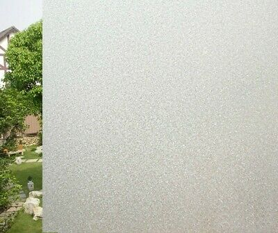 Frosted Window Film Frost Privacy Glass Self Adhesive Vinyl 1m X 1.20m sticker