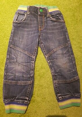 H & M Loose Pull On Jeans Cuffed 2-3 years EUR 98 cm Baby Boys