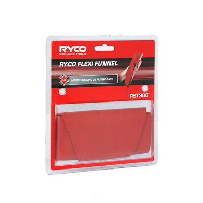 Ryco Flexi Funnel RST300 - Handy flexible funnel for oil and filter changes
