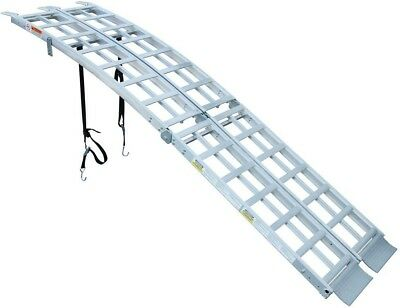 New Multi Purpose Folding Arched Truck Loading Ramp Ramps Steel Sturdy Aluminum
