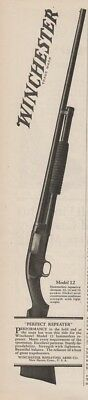1927 Winchester Repeating Arms New Haven CT Model 12 Shotgun 12 16 20 Gauge Ad