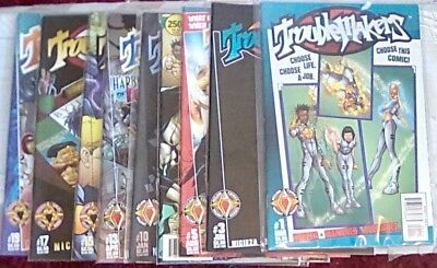 Troublemakers Lot of 17 Comics (From a 19 comic series)