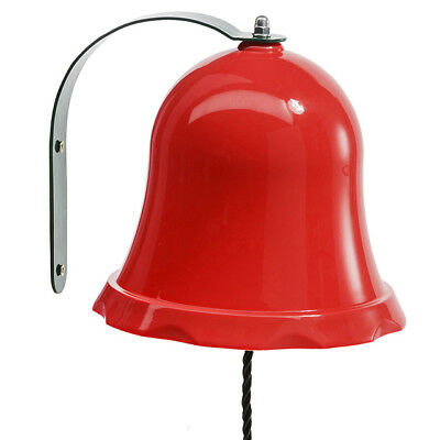 Red Kids Bell for Climbing Frames, Cubbies and Playgrounds