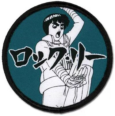 Naruto Shippuden Rock Lee Iron On Patch AUTHENTIC NEW LICENSE FREE SHIP