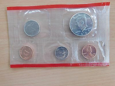 Coins.us.uncirculated.set.1999.d