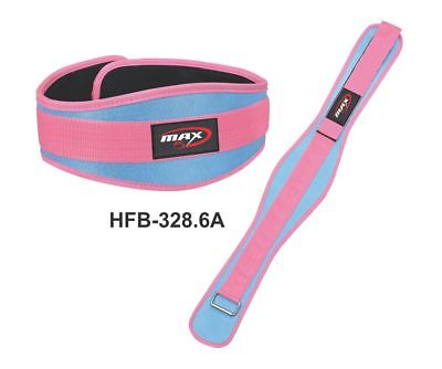 Ladies Weight Lifting Belt Gym Training Fitness Neoprene Belt Back Support Pain