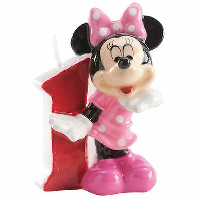 Minnie Mouse Kinder 1. Geburtstags Kerze torte Disney torten deko