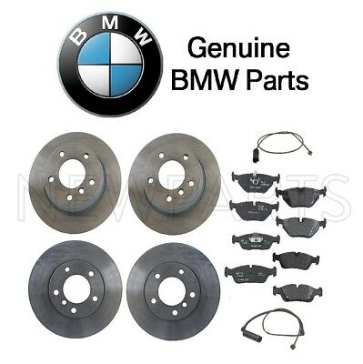 BMW 3-Series E46 Front Right Left Vented Brake Disc Rotor GENUINE 34116864058