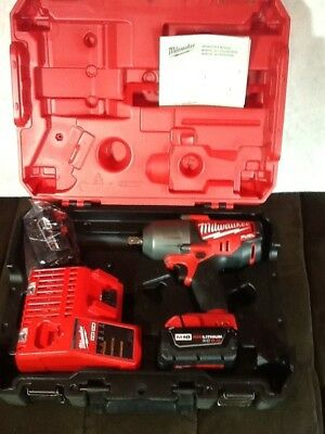 """Milwaukee 2762-22 M18 Fuel 1/2"""" High Torque Impact Wrench w/Pin Detent Kit"""