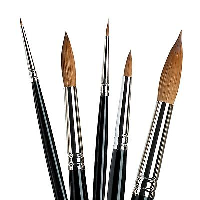 Winsor & Newton Series 7 Kolinsky Sable Artists Quality Watercolour Brushes