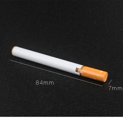 Novelty Windproof Jet Flame Cigarette Shaped Refillable Butane Gas Lighter NI