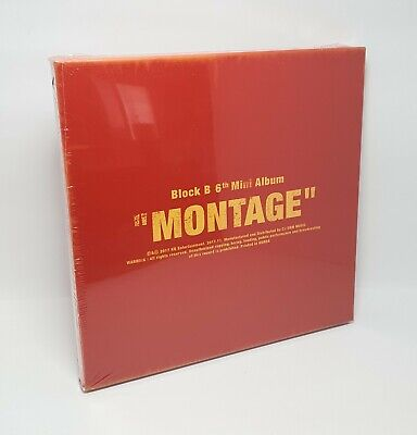 K-POP BLOCK B 6th Mini Album [MONTAGE] CD+72p Photobook+Photocard+12p Lyric Book