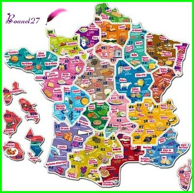 Carte De France Le Gaulois Magnet France Carte