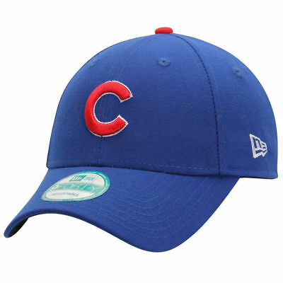 New Era 9FORTY MLB Chicago Cubs Royal Blue The League Curved Peak Strapback Hat