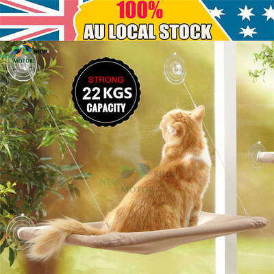 Cat Window Mounted bed Seat Pet Sunny Hammock Cover Washable Up to 50lbs(22.7kg)