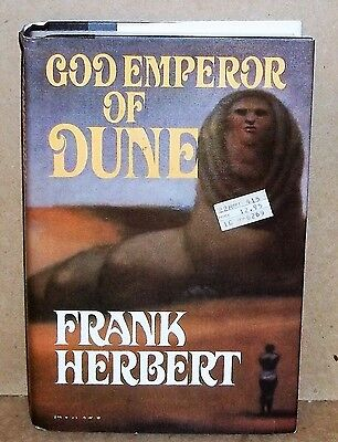 God Emperor Of Dune Hardcover Book By Frank Herbert 1981
