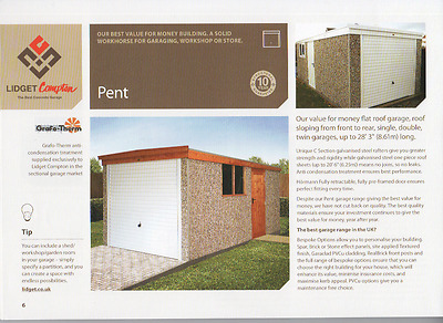 November Special Offer Free Upvc On All Standard Concrete Sectional Garages
